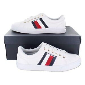 Tommy Hilfiger Womens Lightz White Sneakers (TWLIGHTZ) US Size 5.5 - 10