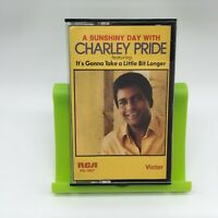 Charley Pride: A Sunshiny Day with Charley Pride Cassette Tape Very Good