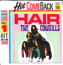 "THE  COWSILLS  Hair & What Is Happy?  PICTURE SLEEVE 7"" 45 rpm vinyl record NEW"