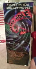 The Black Hole Sci-fi INSERT 14X36 original MOVIE POSTER Anthony Perkins 70's p1