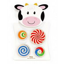 Viga Cow Wall Toy - Turning Patterns (FREE DELIVERY)