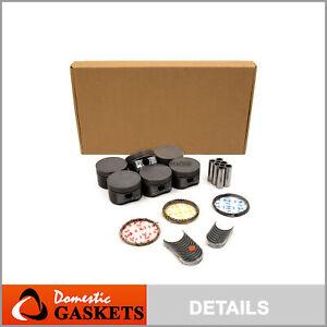 Full Gasket Set Pistons Bearings Fit 04-06 Ford Explorer Mercury 4.0L V6 SOHC