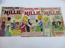 Modeling with Millie Marvel Model Stan Lee Goldberg Silver Age 31 35 36 1964