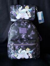 NWT Loungefly Villians Mini Backpack & Villains Tech Wallet - New