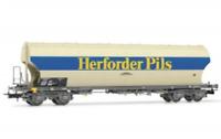 Rivarossi HR6399 HO Gauge DB Herforder Pils Bogie Silo Wagon IV