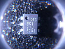 MCT210 Optoisolator Transistor with Base Output 5300Vrms 1 Channel 6-DIP Qty.5