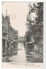 Un bras de Iton A Branch of Iton River Evreux Eure France 1910s postcard