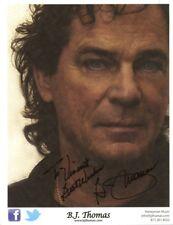 B.J. THOMAS Signed Photo