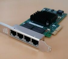 Intel Ethernet Server Adapter I350-T4 scheda rete quad port gigabit LAN 4x PCIe