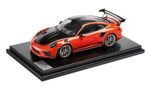 Porsche Driver's Selection 911 GT3 RS W/ Weissach Package 1:12 Model Car- Orange