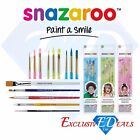 Genuine Snazaroo Professional Face & Body Paint Brushes - Brand New