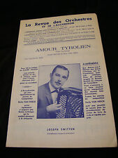 Partition Amour Tirolese Joseph Switten Music Sheet