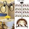 Vintage Industrial Retro Loft Metal Ceiling Lamp Shade Pendant Light Chandeliers