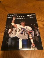 DANNY WUERFFUL FLORIDA GATORS SIGNED AUTOGRAPHED 8X10 PHOTO 1996 HEISMAN 2