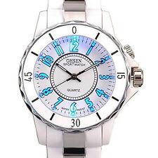 Elegant OHSEN Womens Ladies Quartz Sports Wrist Watch 7 Colour LED Light Watch