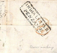 MS4166 1843 GB Maritime Cornwall *INDIA LETTER PENZANCE* Cover Windsor RARE