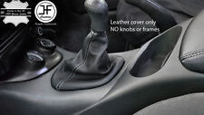 FITS FALCON EF-EL-AU XR6-XR8 TICKFORD TOP GRAIN LEATHER GEAR BOOT WHITE STITCH