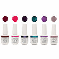 Gelish Mini Sassy Intergalactic Glam 9 mL Soak Off Gel Nail Polish Set, 6 Pack