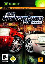Midnight Club 3 DUB Edition (Microsoft Xbox, 2005, DVD-Box)