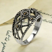 Addison Lane Marcasite Wanda Ring ~ Size 7