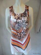 BIBA Camiseta/Túnica Oriental Glamour blanco talla S NUEVO