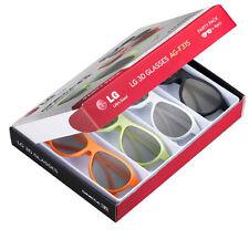 LG Party coloré paire de lunettes 3d (Pack de 4)