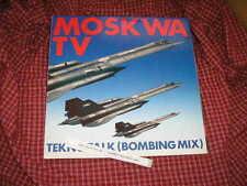 "LP Pop Moskwa TV - Tekno Talk (  Bombing Mix ) 12"" WESTSIDE"