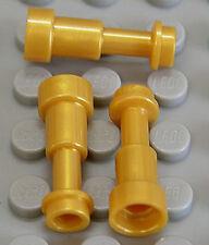 LEGO - 3 x Teleskop / Fernglas pearl gold / Telescope / 64644 NEUWARE