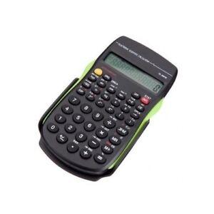SCIENTIFIC CALCULATOR ELECTRONIC OFFICE 10 DIGITS SCHOOL EXAMS GCSE WORK OFFICE