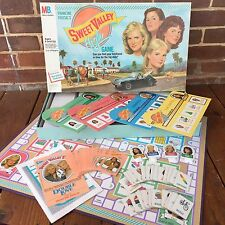 Vintage 80s Sweet Valley High Board Game Milton Bradley Complete Francine Pascal
