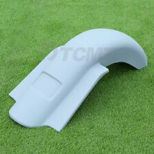 """4"""" Extended Stretched Rear Overlay Fender For Harley Road Street Glide 14-18 17"""
