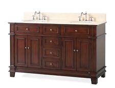 """60"""" Double Sink Sanford Bathroom Sink Vanity Cabinet Model Cf-3048M-60"""