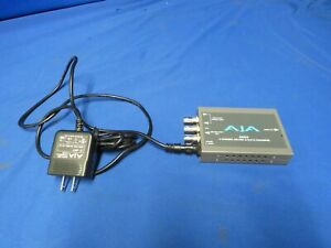 AJA ADA4 4 Channel AES/EBU A/D, D/A Converter w/ power supply, (no I/O cable)