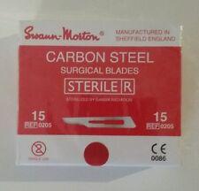 SWANN MORTON Sterile Blades No.15