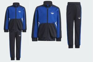 ADIDAS OROGINALS SPRT COLLECTION TRACKSUIT ZIPUP BOYS UNISEX GN2297 SZ 4-8 YEARS