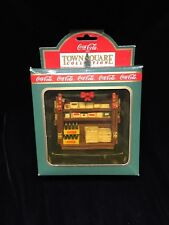 1992 Coca Cola Collectibles - Newsstand - news stand -,Town Square Collection
