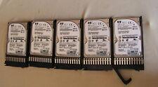 """HP 300 GB SAS 6G HDD 2.5"""" 10K DG0300FARVV 518194-002 507129-003 0B24182 + Caddy"""