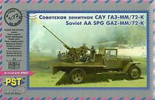 PST 1/72 (20mm) GAZ-MM with 25mm 72-K AA Gun