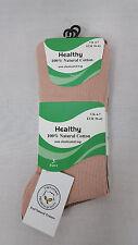 Ladies Non Elastic Diabetic Socks Soft Top Natural Cotton Healthy Socks 3 Pairs