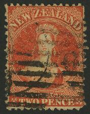 New Zealand   1873   Scott #  46    USED