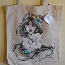 New! Disney Princess Jasmine tote bag handbag cartoon cute princess fun Aladdin