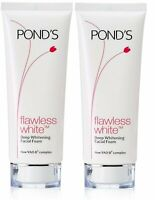 Pond's Flawless White Deep Whitening Facial Foam, ( 2 Pack x 100 gm ) F/Shipping