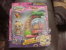 Shopkins Shoppets Deluxe Pack - Duncan and Sweet Donut Swing BNIB