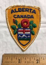 Alberta Canada Provincial Coat of Arms Shield Wild Rose Shield Patch