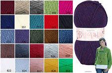King Cole Big Value Chunky Knitting Wool 100g Ball 100%25 Acrylic Knitting Wool