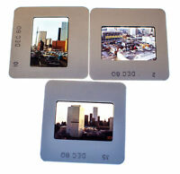 Vintage 35mm Photo Transparency Slides - Toronto, Canada 1980 | Lot of 3