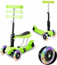 WeSkate Mini Scooter for Kids, Lights Up Scooters for Toddlers Girls & Boys