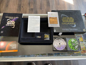 Star Wars Galaxies: An Empire Divided -- Collector's Edition (PC, 2003) -READ!