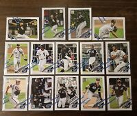 2021 Topps Chicago White Sox Lot - Nick Madrigal RC, Luis Robert Rookie Cup