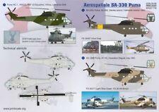 Escala de impresión 1/72 Aerospatiale SA.330 Puma # 72162